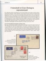 I francobolli di Gran Bretagna soprastampati