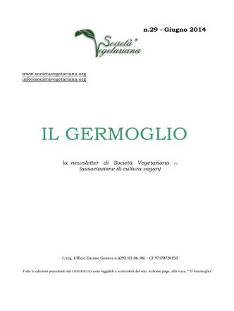 29 - Il Germoglio - Giugno 2014