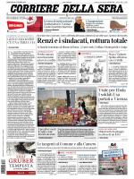 Corriere della sera - 28.10.2014