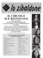 ZIBALDONE N°107.indd - Circolo Dipendenti BPER