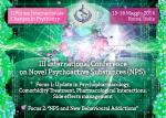 III International Conference on Novel Psychoactive Substances (NPS):