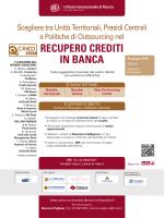 RECUPERO CREDITI IN BANCA - Istituto Internazionale di Ricerca