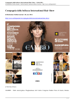 Compagnia della bellezza International Hair Show