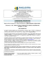 CONDIZIONI DEFINITIVE - Banca di Pisa e Fornacette