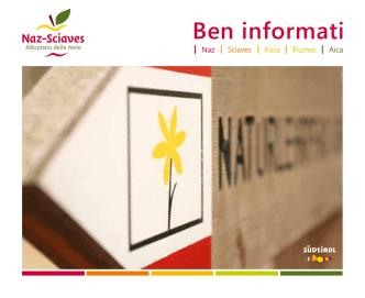 Ben informati - Tourismusverein Natz Schabs
