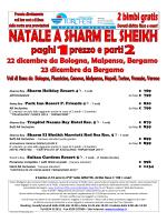 Naama Bay - Sharm Holiday Resort 4- 7 notti