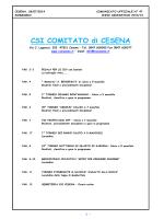 Comunicato Ufficiale n. 47