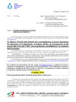 Circolare Indizione Campionati Regionali 2014-2015