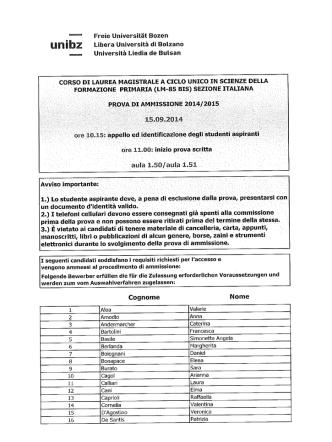 1 - FORMAZIONE PRIMARIMI-M-î85 BIS.)_SEZIONEITALIANA