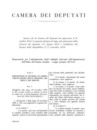 C.1864-B - Parlamento Italiano