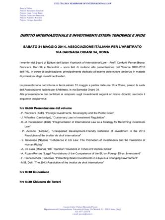 Annuncio IYIL XXIII-Roma 31.05.14 FINAL PDF File - E