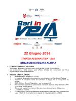 CONI FIV ISAF UVAI - Circolo Vela di Bari