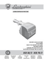 ECO 50/2 - ECO 70/2 - Lamborghini Calor