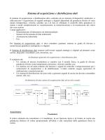 Sistema di acquisizione e distribuzione dati