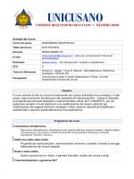 Elettronica - UniCusano