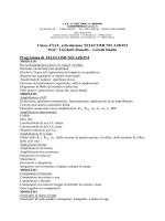 Goretti Danilo Programma di TELECOMUNICAZIONI