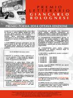 Premio Letterario G.Bolognesi VIII edizione