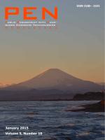 January 2015 Volume 5, Number 10
