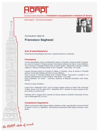 CV italiano (pdf) - Moodle ADAPTLAND