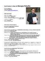 Vedi curriculum pdf - Ordine degli Ingegneri Provincia di Savona