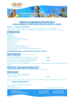 Tariffe per gruppi - Wave Sesto | Parco Acquatico Sesto Calende