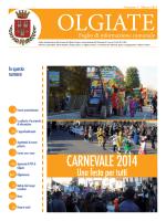 Giornale comunale marzo 2014