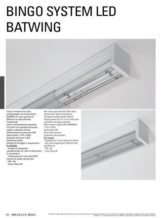 BINGO SYSTEM LED BATWING