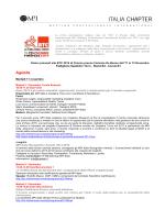 Agenda MPI Italia a BTC 2014