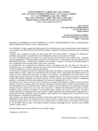 27 novembre 2000 - FITAV Sardegna