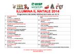 """Scaletta """"Illumina il Natale 2014"""" – secondo spettacolo"""