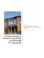 Dispensa_Storia emergenze - arch. Francesco Stucchi