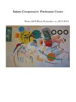 POF 2013-2014 - Istituto Comprensivo Pordenone Centro