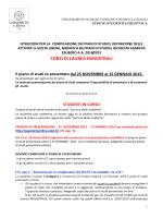 Istruzioni presentazione e modifiche piani di studio lauree magistrali