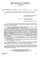 procedura e flusso informativo - Azienda Ulss 4 Alto Vicentino