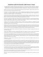 Quadrivio cede Fine Sounds a LBO France e Yarpa
