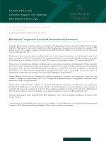 Blackstone acquisisce Lombard International Assurance
