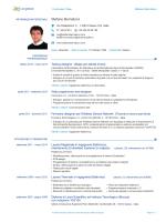 Europass CV - stefano bernabovi