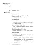CV europeo - Formazione Unitelma Certiquality