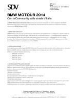BMW MOTOUR 2014 - Federazione Motociclistica Italiana