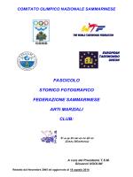 Fascicolo TSM Cap. 1 - Affiliazioni Fesam