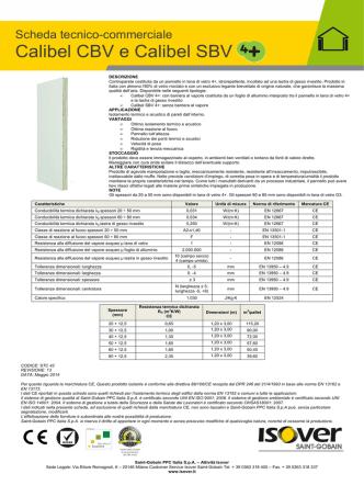 CE STC 42 R13 Maggio 2014 Calibel CBV 4+ e Calibel