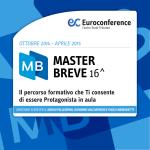 Percorso formativo Master Breve 16^ Edizione