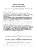 Decreto legge 24 giugno 2014 n. 90 Gazzetta Ufficiale