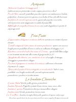 Antipasti Primi Piatti Le Insalate Classiche