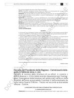 BUR n. 10 del 5 marzo 2014 - Commissario Terza Corsia