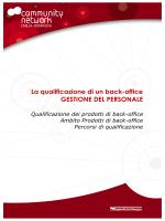 Percorso di qualificazione per la gestione del personale