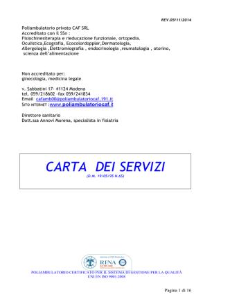 carta dei servizi caf rev 05-11-2014