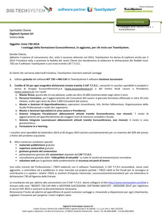 Adesione Caf TFDC 730/2014