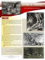 GUERRA DI TRINCEA - Ecoistituto della valle del Ticino