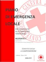 Piano di Emergenza Locale